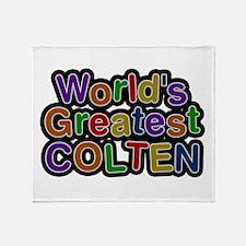 World's Greatest Colten Throw Blanket