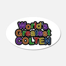 World's Greatest Colten Wall Decal