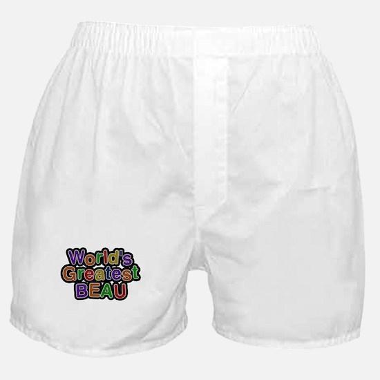 Worlds Greatest Beau Boxer Shorts
