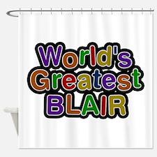 World's Greatest Blair Shower Curtain