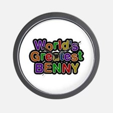 World's Greatest Benny Wall Clock