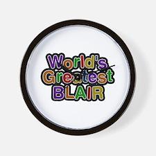 World's Greatest Blair Wall Clock