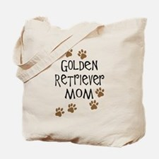 Golden Retriever Mom Tote Bag