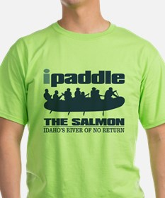 ipaddle raft (Salmon River) T-Shirt