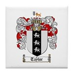 Taylor Coat of Arms Tile Coaster