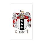 Taylor Coat of Arms Rectangle Sticker