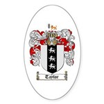 Taylor Coat of Arms Oval Sticker