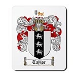 Taylor Coat of Arms Mousepad