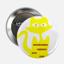 """Curiosity killed the cat 2.25"""" Button (10 pack)"""