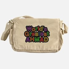 Worlds Greatest Ahmad Messenger Bag