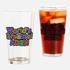 Worlds Greatest Aden Drinking Glass