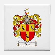 Tate Coat of Arms Tile Coaster