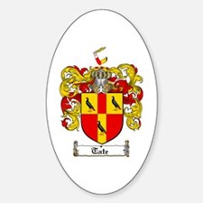 Tate Coat of Arms Oval Decal
