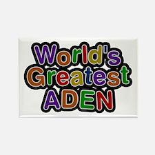 World's Greatest Aden Rectangle Magnet