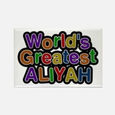 World's Greatest Aliyah Rectangle Magnet