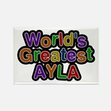 World's Greatest Ayla Rectangle Magnet