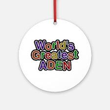 World's Greatest Aden Round Ornament