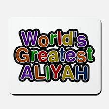 World's Greatest Aliyah Mousepad