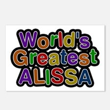 World's Greatest Alissa Postcards 8 Pack
