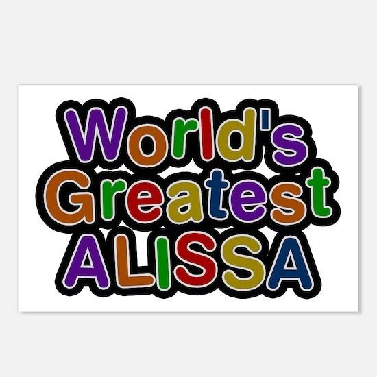 World's Greatest Alissa Postcards 8 Pack
