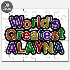 World's Greatest Alayna Puzzle