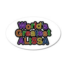 World's Greatest Alissa Wall Decal
