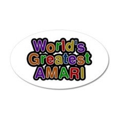 World's Greatest Amari Wall Decal