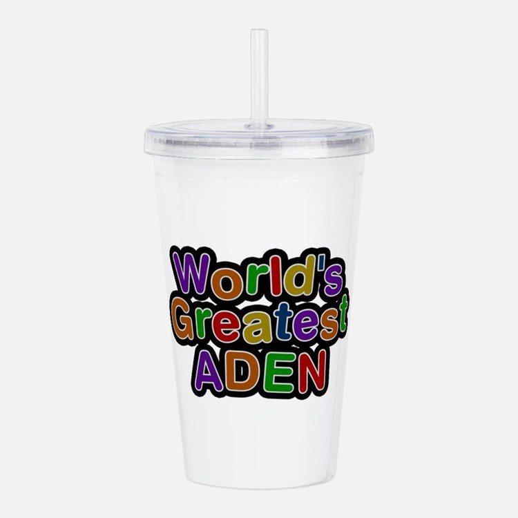 World's Greatest Aden Acrylic Double-wall Tumbler
