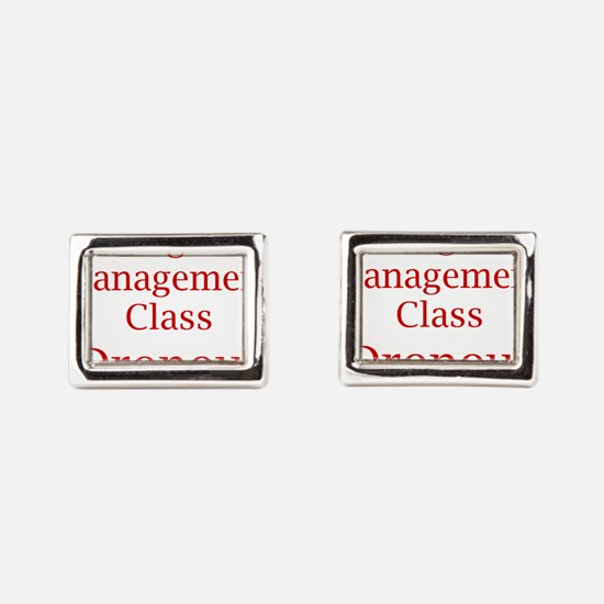 Cute Dropout Rectangular Cufflinks