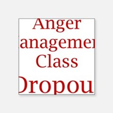 """Cute Anger management Square Sticker 3"""" x 3"""""""