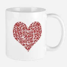 I Love You! I love you! I love you! QR Code Mugs