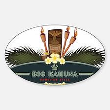 Big Kahuna Tiki Decal