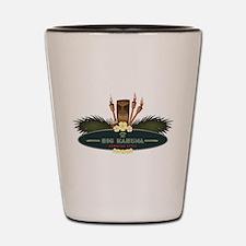 Big Kahuna Tiki Shot Glass