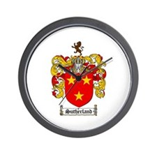 Sutherland Coat of Arms Wall Clock