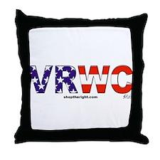 VRWC Logo Throw Pillow