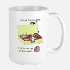 Chocolate Cats Mugs
