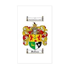 Sullivan Coat of Arms Rectangle Stickers