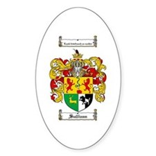 Sullivan Coat of Arms Oval Decal