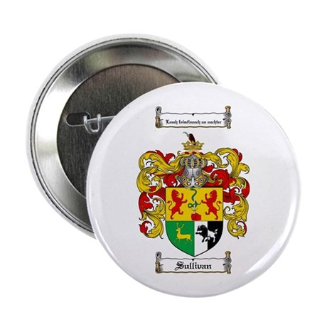 "Sullivan Coat of Arms 2.25"" Button (100 pack)"