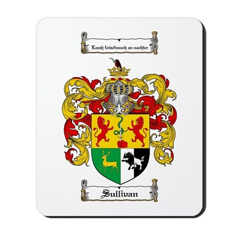 Sullivan Coat of Arms Mousepad