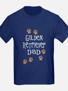Golden Retriever Dad T