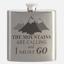Cute Outdoors Flask