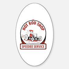 Cool Go cart racing Sticker (Oval)