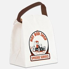 Hot rod Canvas Lunch Bag