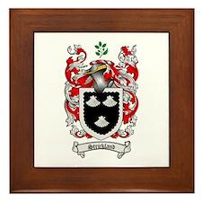 Strickland Coat of Arms Framed Tile