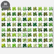 FOUR LEAF CLOVERS Puzzle