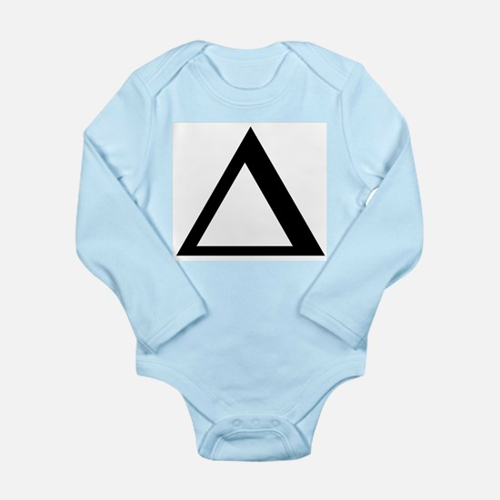Delta (Greek) Infant Creeper Body Suit