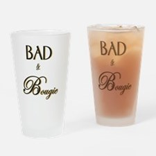 Cute Traits Drinking Glass