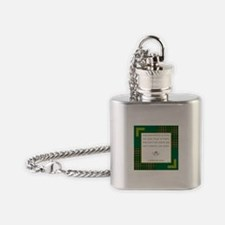MAY YOUR POCKETS BE... Flask Necklace