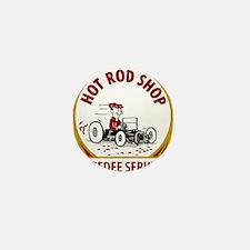 Hot Rod Shop Mini Button